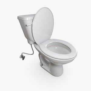 toilet seat 3D