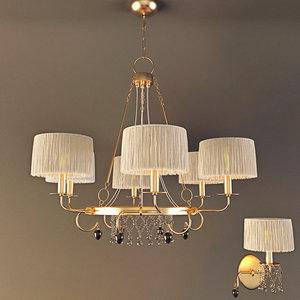 baga chandelier sconce model