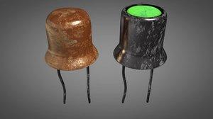 3D electronic transistors