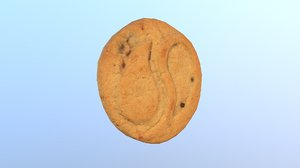3D cookie tao 03 modeled model