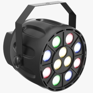 real stage light 3D