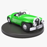 Cartoon Toy Classic Roadster