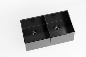 sink double bowl 3D