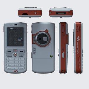 3D sony ericsson w800i 2005