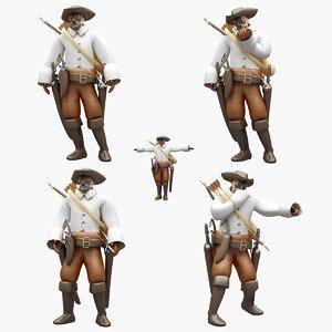 pirate pose model