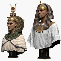 Pharaoh and Egyptian Queen