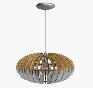 chandelier light sotos 3D