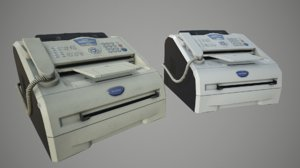 3D brother intellifax 2820 model