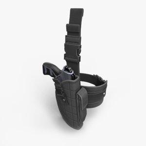 holster ready 3D model