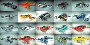 3D 20 1 cool copter model