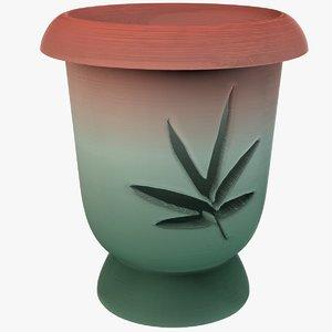 3D model deco pots
