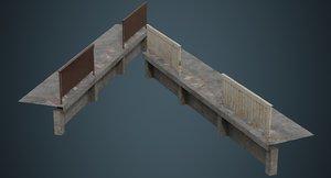 industrial platform 2b 3D model
