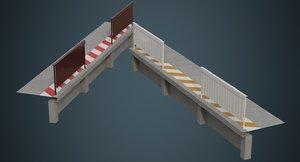 industrial platform 2a 3D