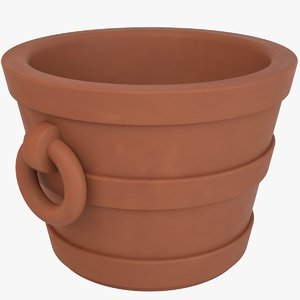 decorative pot 3D model