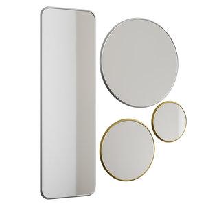 sillon mirrors 3D model