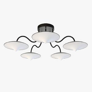 ceiling lamp 01 generic 3D