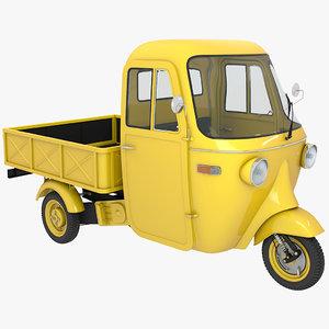 3D model cargo wheeler 02