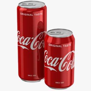 coca cola set 3D