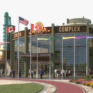 complex shopping 3D