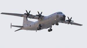 chinese navy shaanxi gx-6 3D