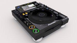 3D pioneer cdj-2000