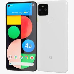 3D realistic google pixel 4a