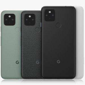 google pixel 5 4a 3D model