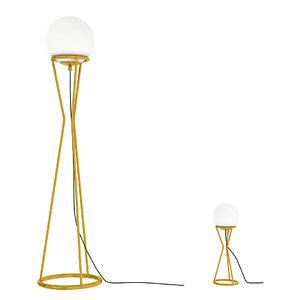 glass ball floor lamp 3D model