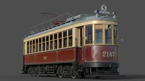 3D km tram