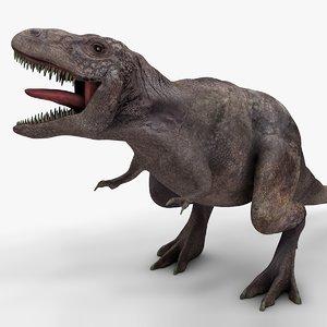 3D model rex l983 animate