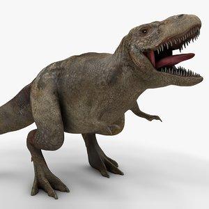3D rex l982 animate