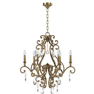 3D crystorama 7526-dt chandelier