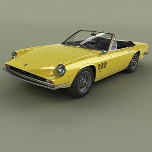 1971 monteverdi speed 375c 3D model