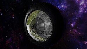 3D model space environment blender