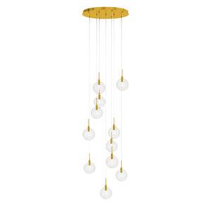 3D model glass ball ceilings lamp