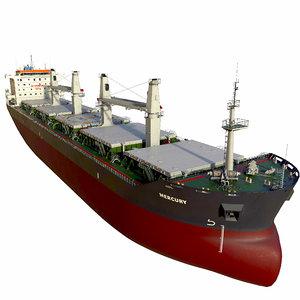 bulk carrier 3D