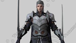knight templar 3D