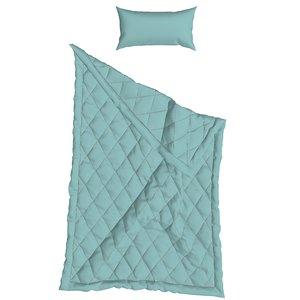 3D marvelous designer pillow blanket model