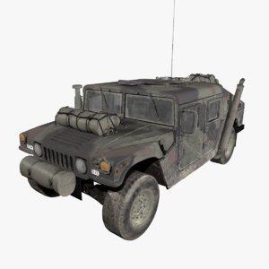 3D humvee m1025 hmmwv model