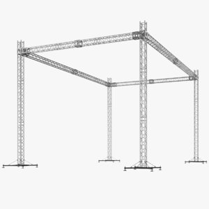 real truss 3D model