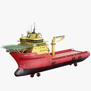 support construction ship 3D