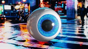 3D eye shader procedurally
