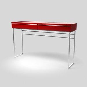 3D table unit