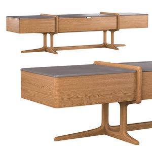 3D model 4220-7 tv cabinet