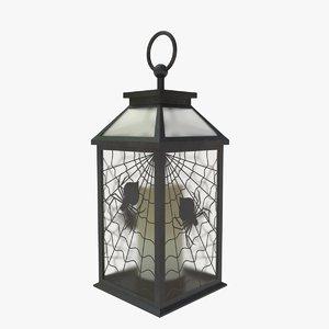 3D lantern spiderweb