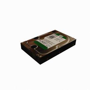 hard drive 3D model