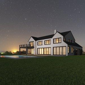 3D house games model