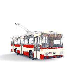 trolleybus skoda model