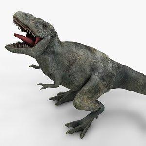 rex l986 animate 3D model