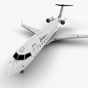 aviation bombardier crj 200 model